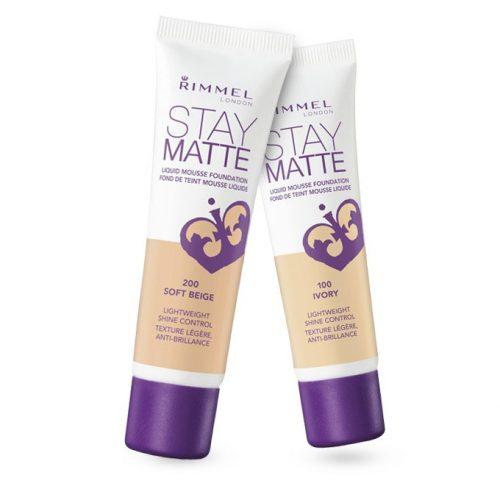 Kem Nền Rimmel Stay Matte Liquid Mousse Foundation tại Mỹ Phẩm Thái Nguyên